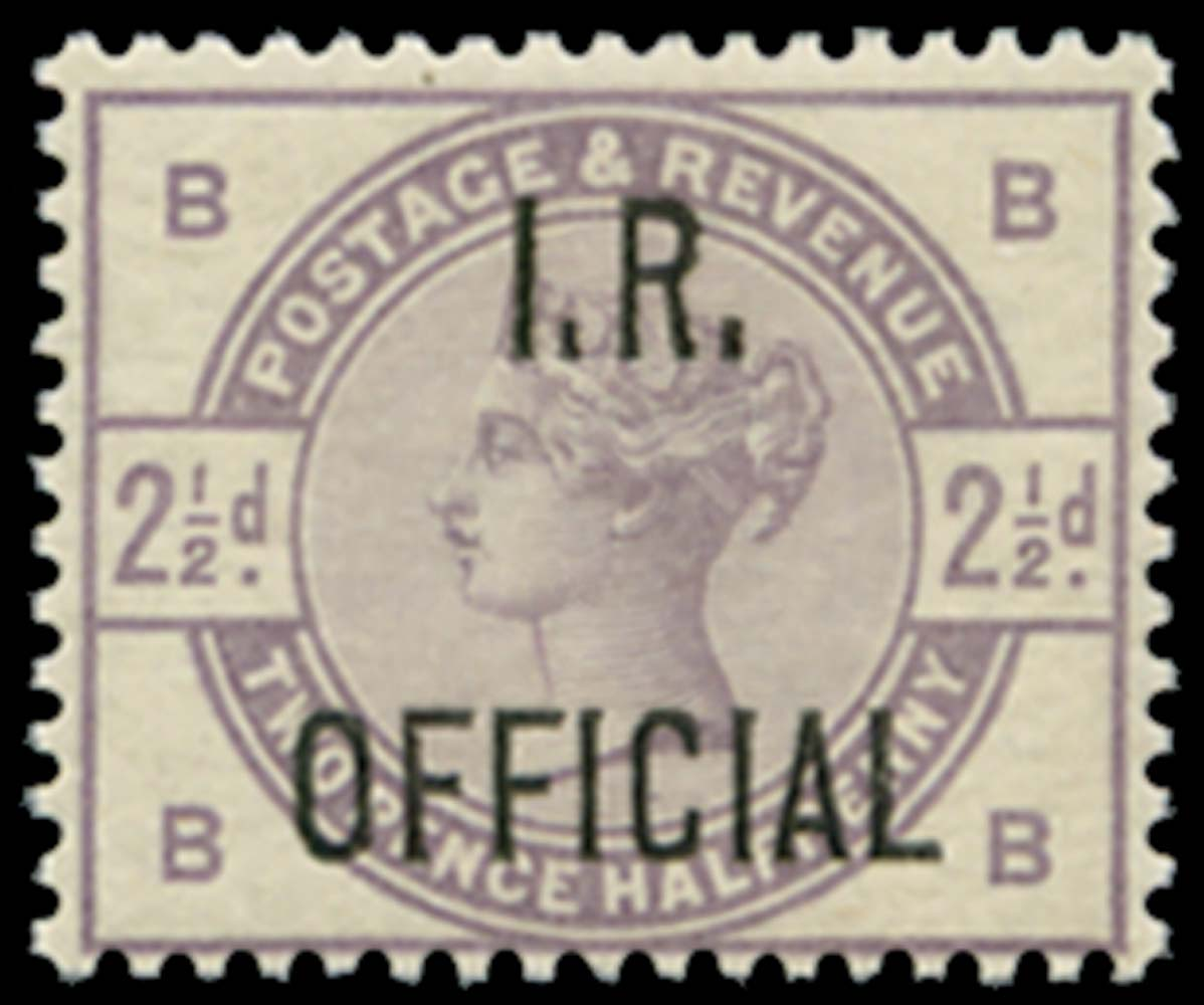 GB 1885  SGO6 Official - Unmounted o.g.