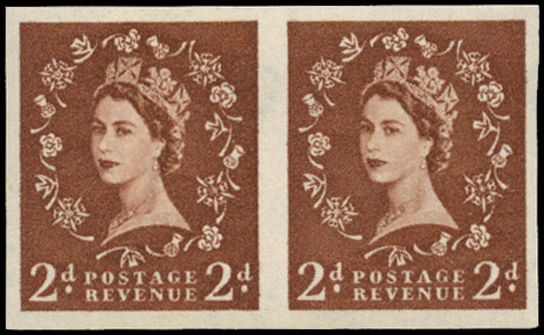 GB 1956  SG543b var Mint -