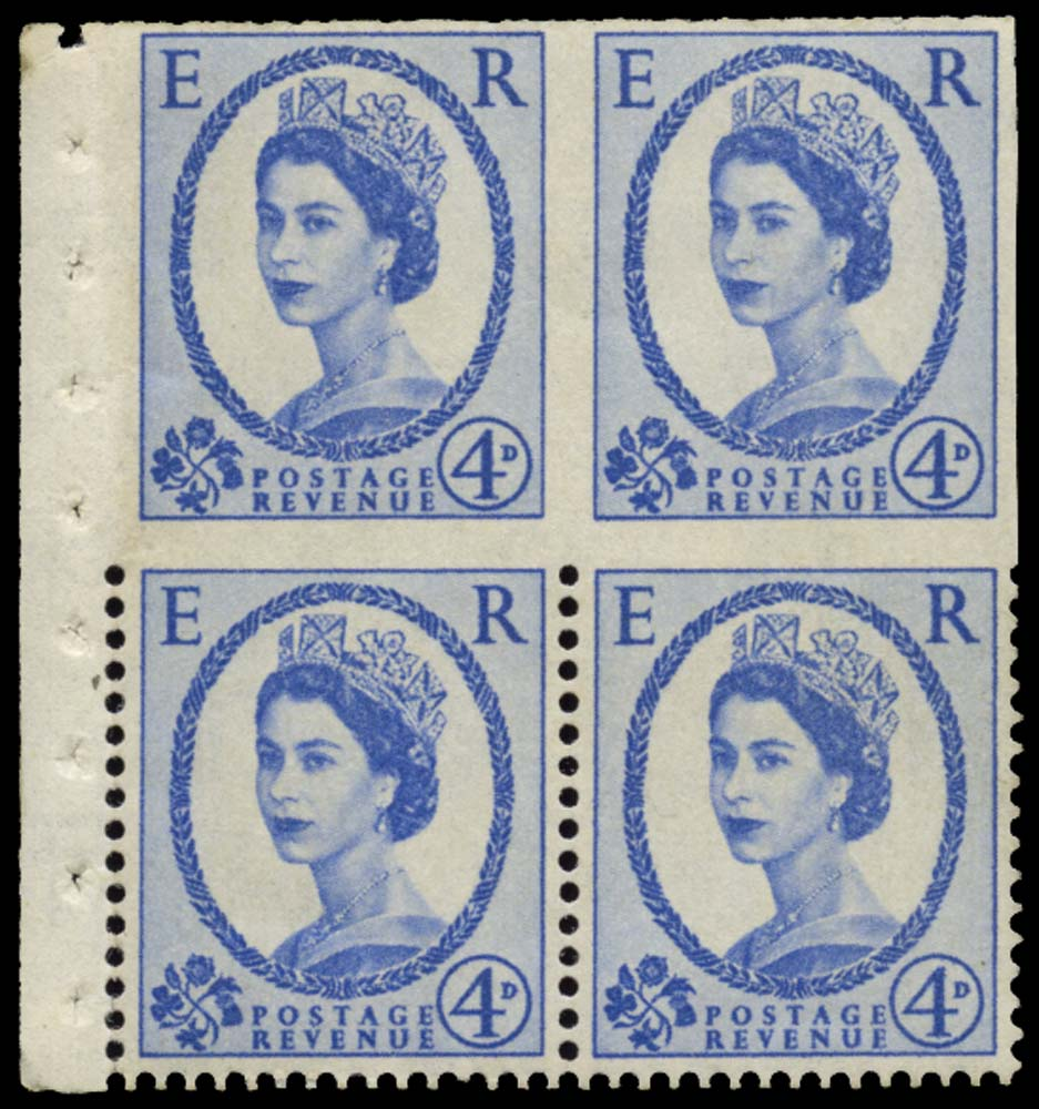 GB 1965  SG576a var Mint - imperf three sides