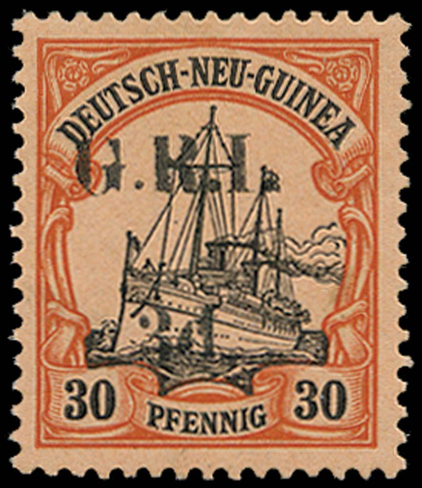 NEW GUINEA 1914  SG8 Mint 3d on 30pf setting VI pos.2