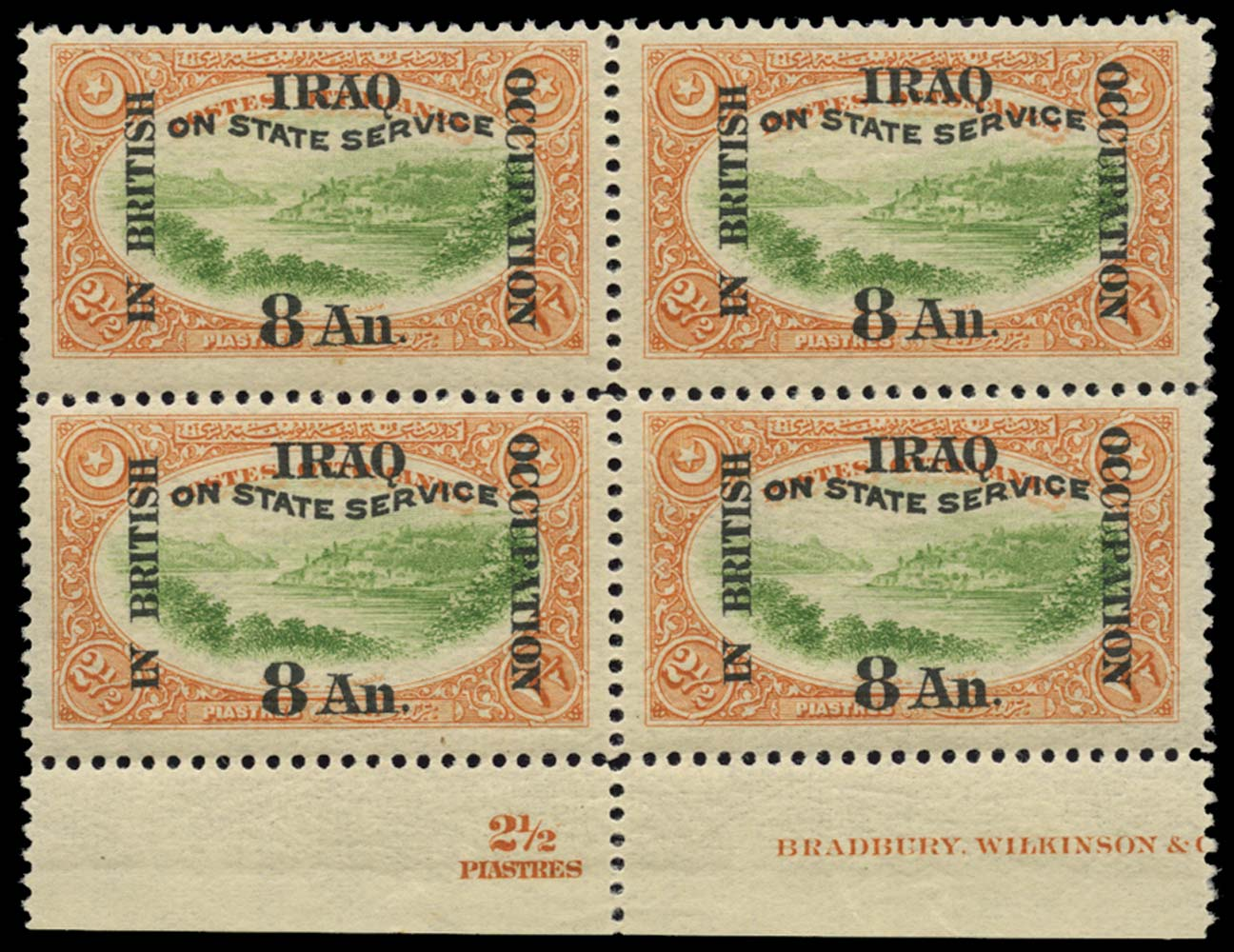 IRAQ BRIT OCC 1920  SGO26 Official