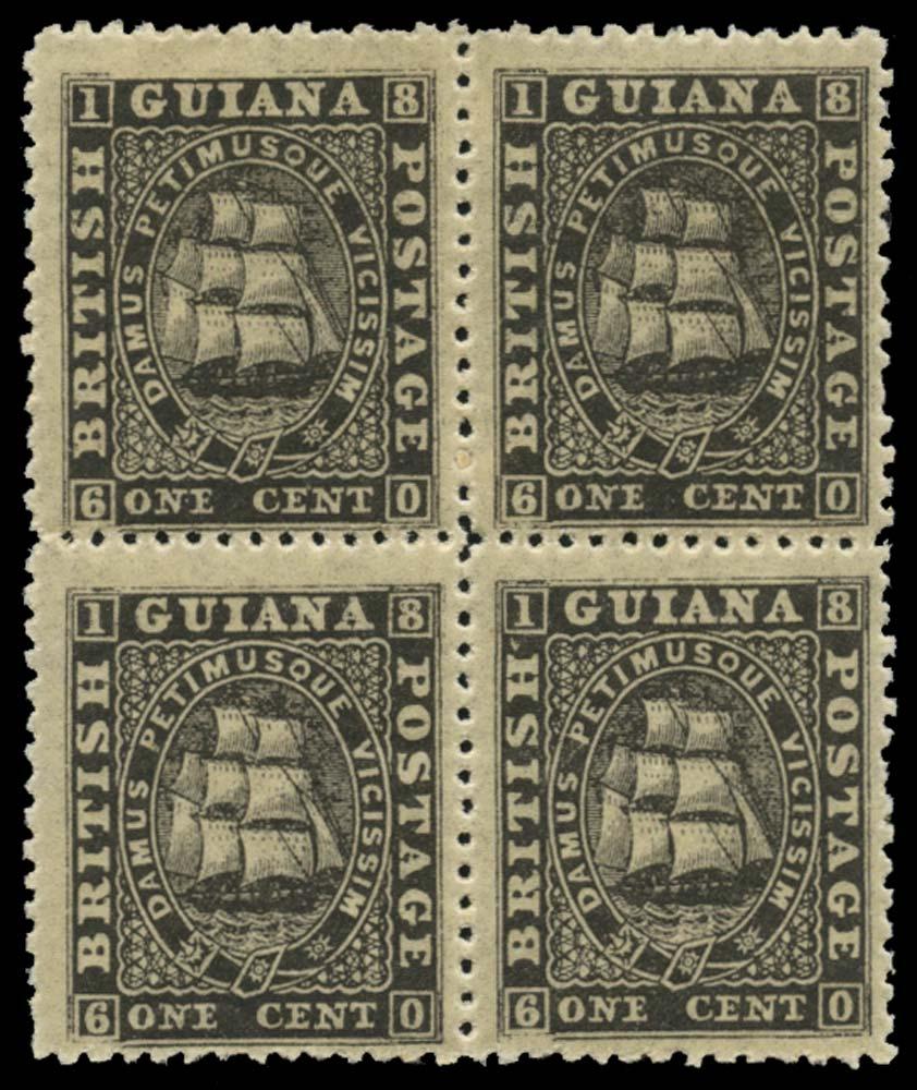 BRITISH GUIANA 1862  SG51 Mint