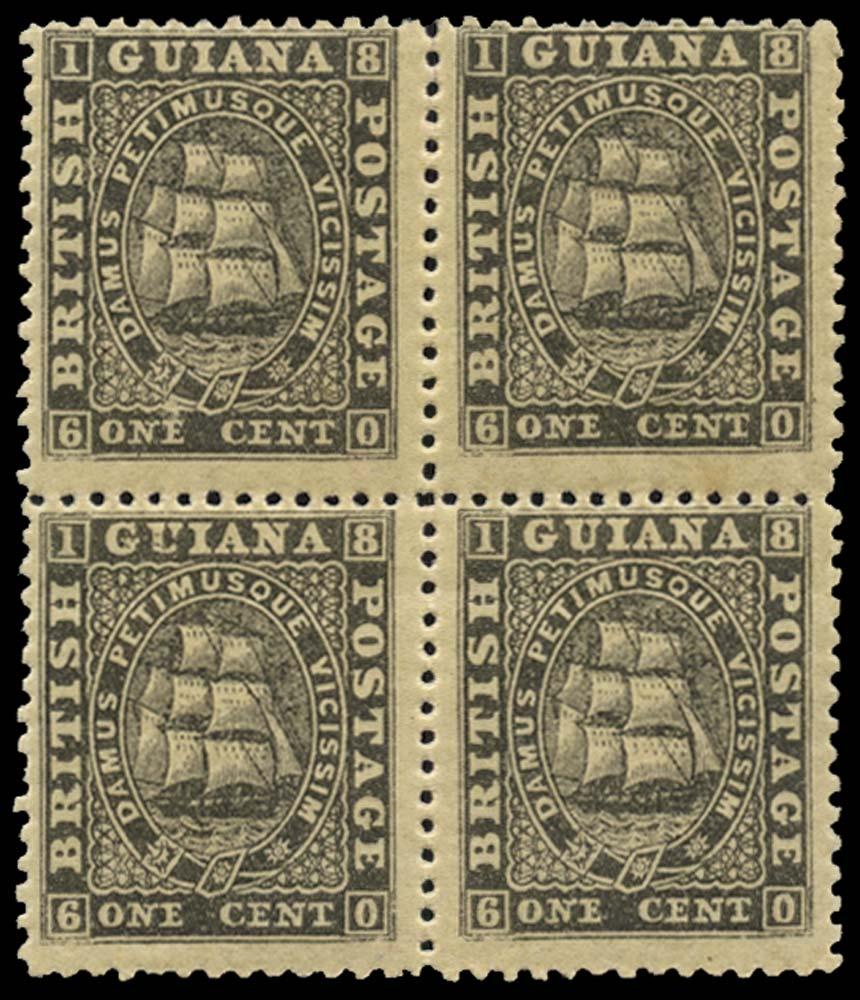BRITISH GUIANA 1862  SG57 Mint