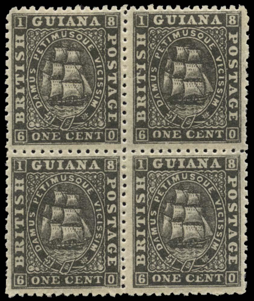 BRITISH GUIANA 1863  SG66 Mint