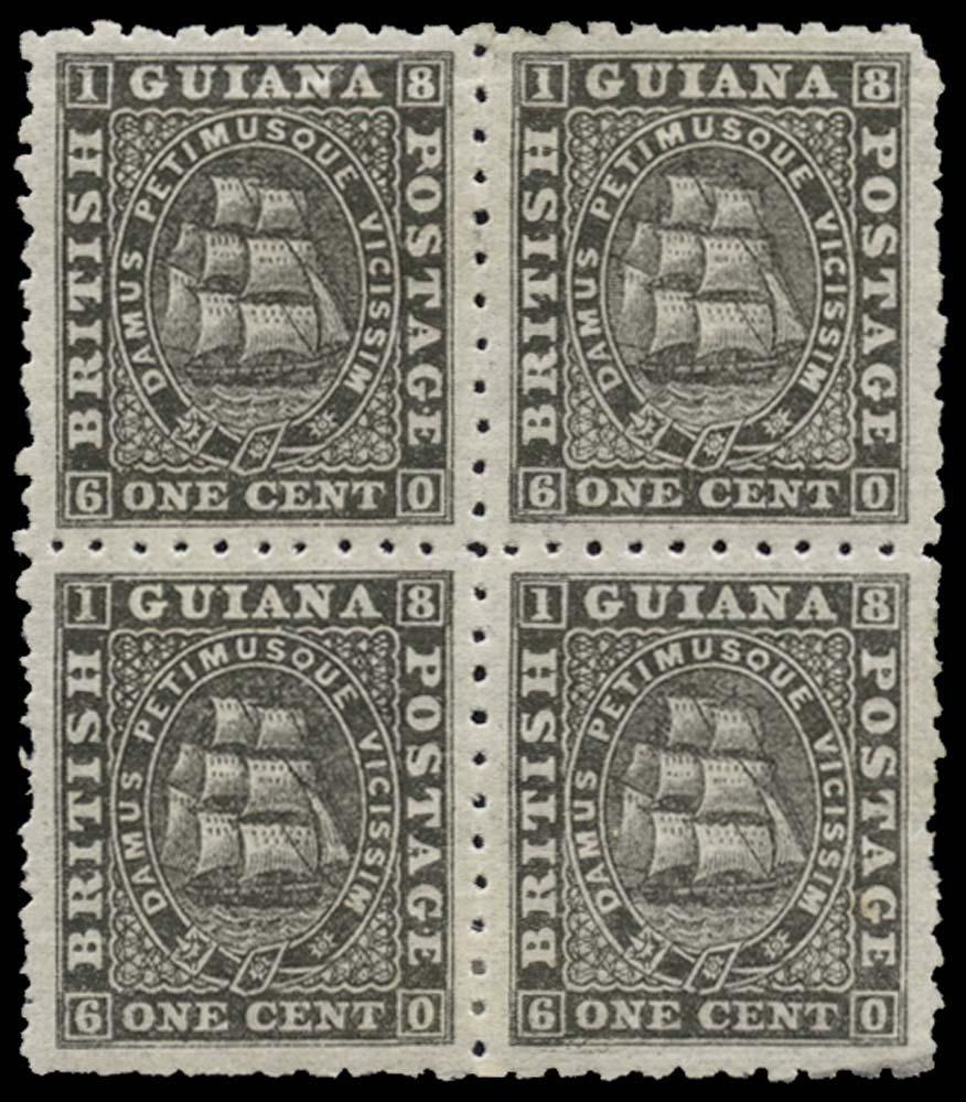 BRITISH GUIANA 1863  SG86 Mint