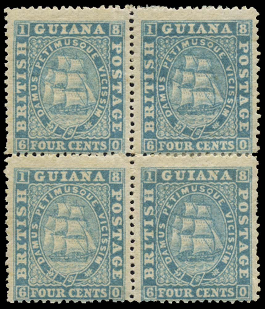 BRITISH GUIANA 1863  SG109 Mint