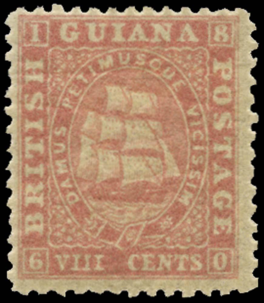 BRITISH GUIANA 1862  SG62 Mint