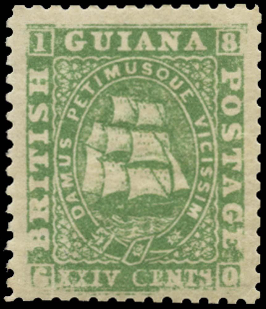 BRITISH GUIANA 1862  SG64 Mint