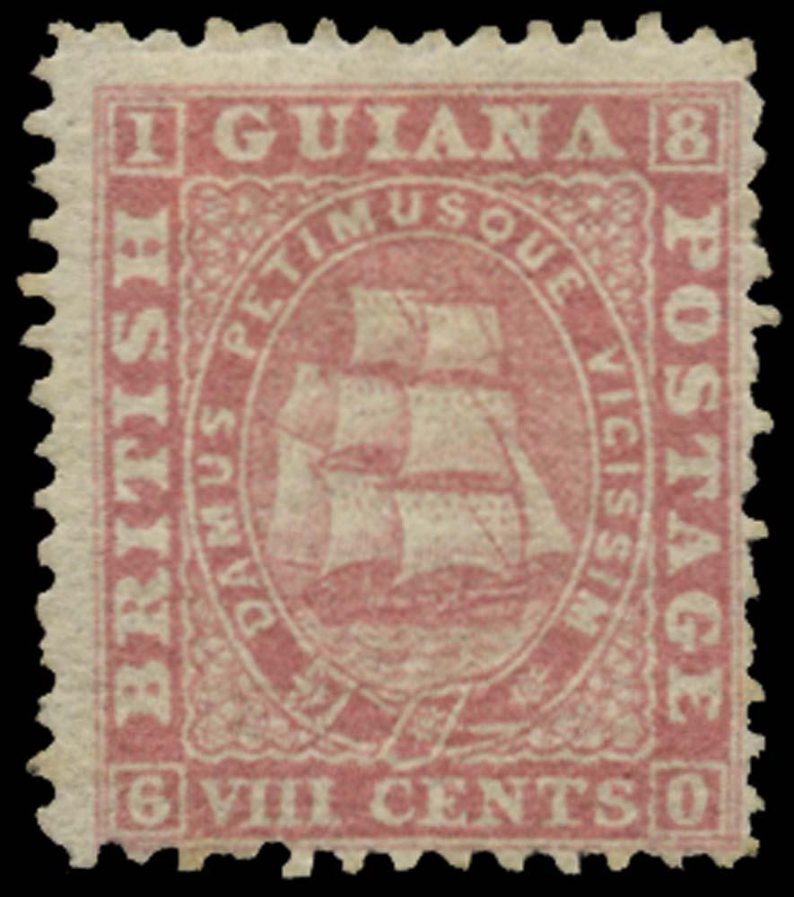 BRITISH GUIANA 1862  SG73 Mint
