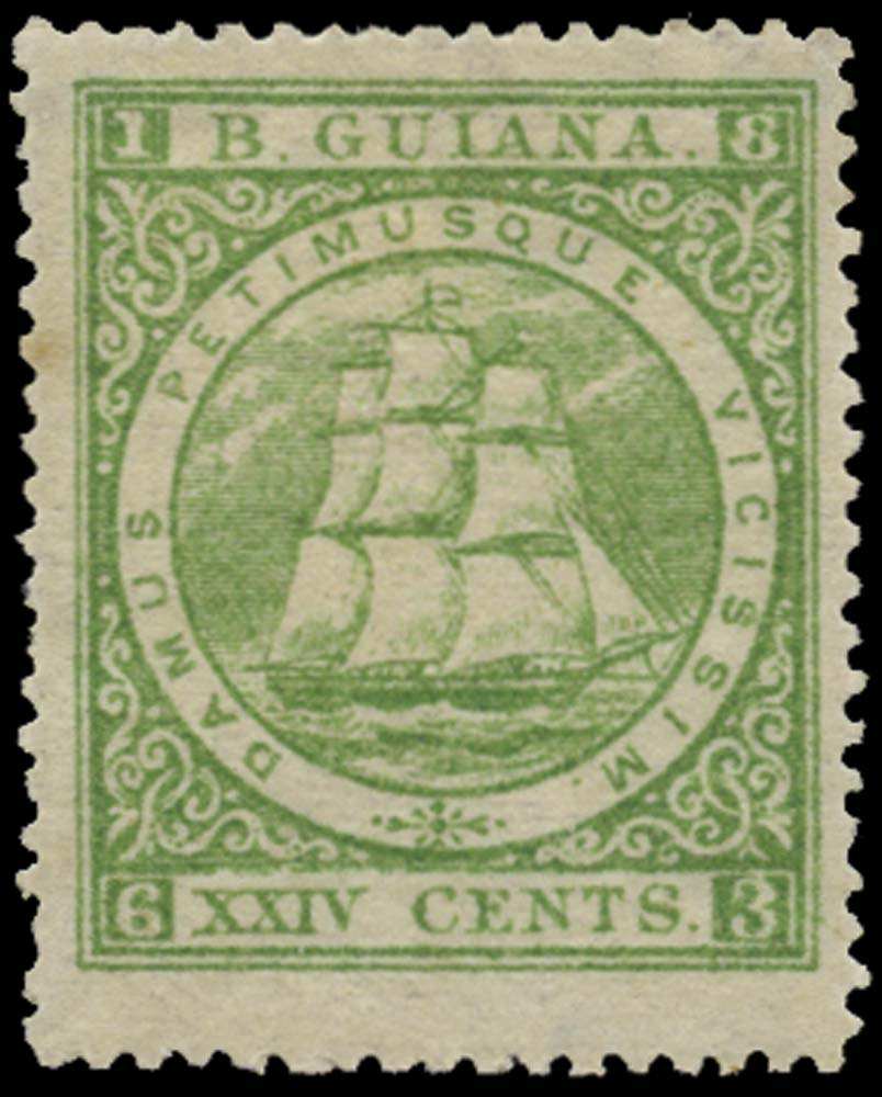 BRITISH GUIANA 1863  SG114 Mint