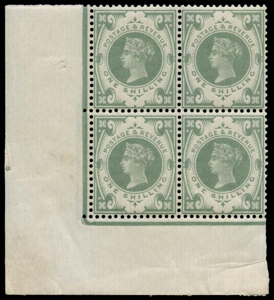 GB 1887  SG211var Mint