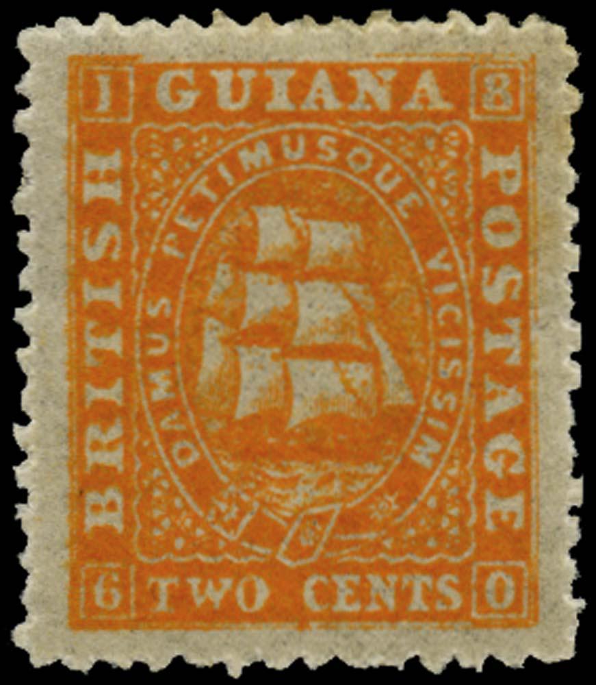 BRITISH GUIANA 1862  SG52 Mint
