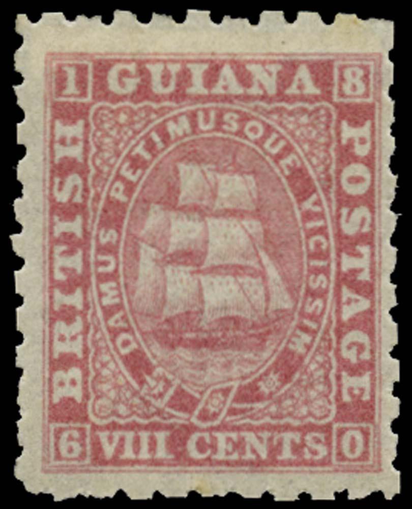 BRITISH GUIANA 1863  SG95 Mint