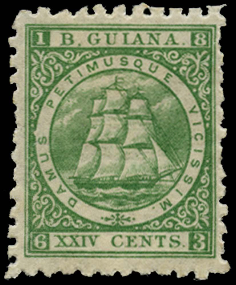 BRITISH GUIANA 1863  SG102 Mint