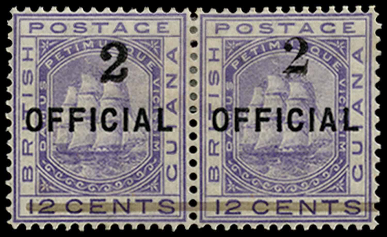 BRITISH GUIANA 1881  SG155a Mint