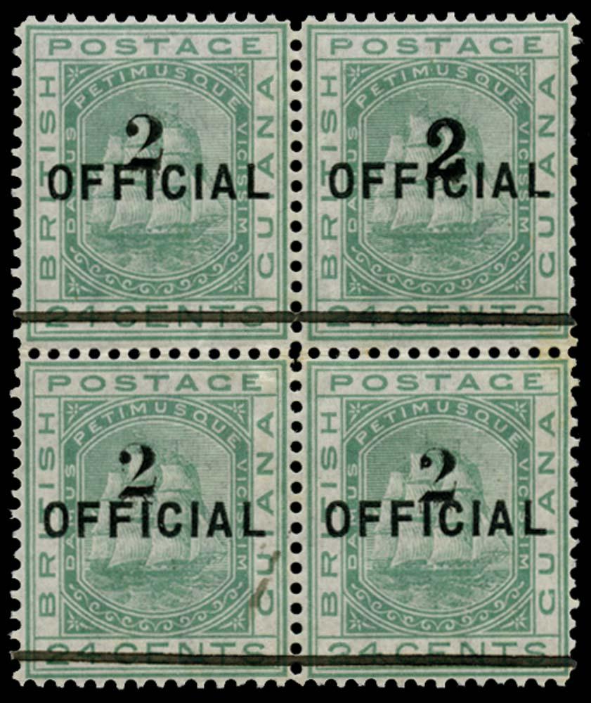 BRITISH GUIANA 1881  SG157/a Mint