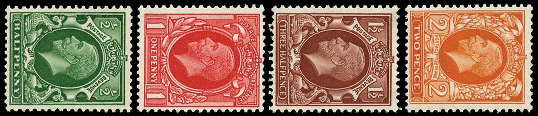 GB 1934-35  SG439/42a Mint