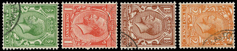 GB 1924-26  SG418/21a Used
