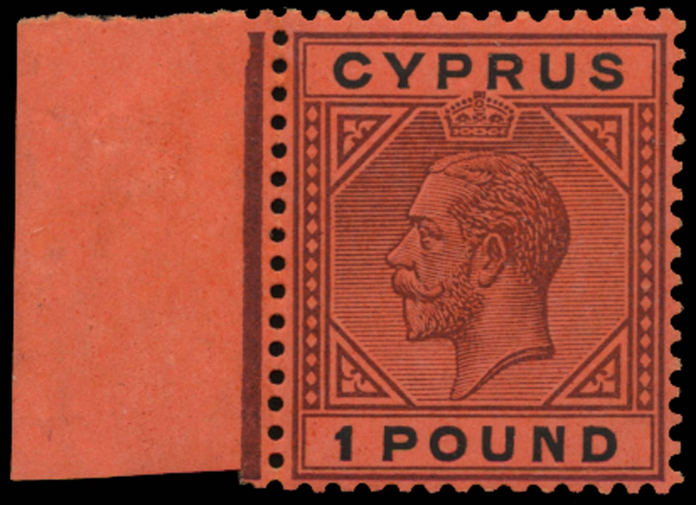 CYPRUS 1921  SG101 Mint £1 unmounted mint
