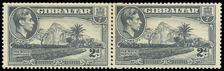 GIBRALTAR 1938  SG124ab Mint
