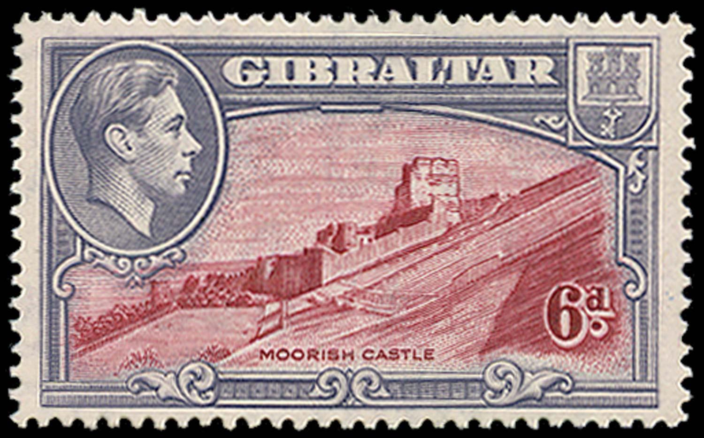 GIBRALTAR 1938  SG126a Mint