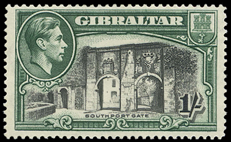 GIBRALTAR 1938  SG127a Mint