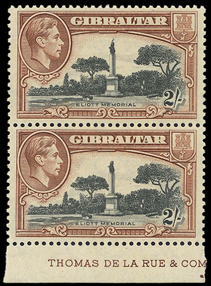 GIBRALTAR 1942  SG128bb Mint
