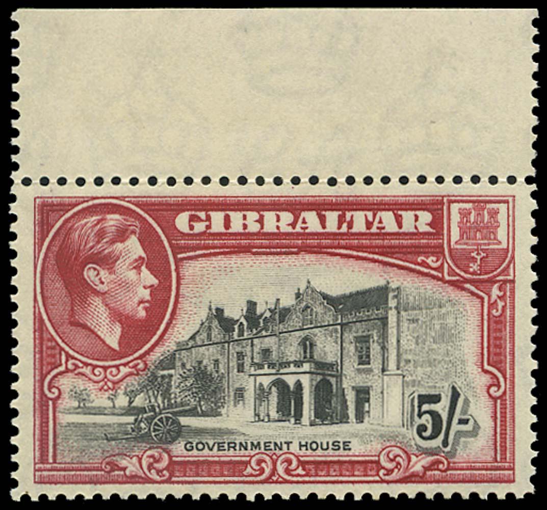 GIBRALTAR 1938  SG129 Mint