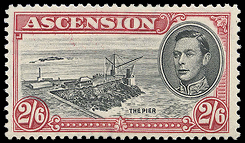 ASCENSION 1944  SG45ca Mint