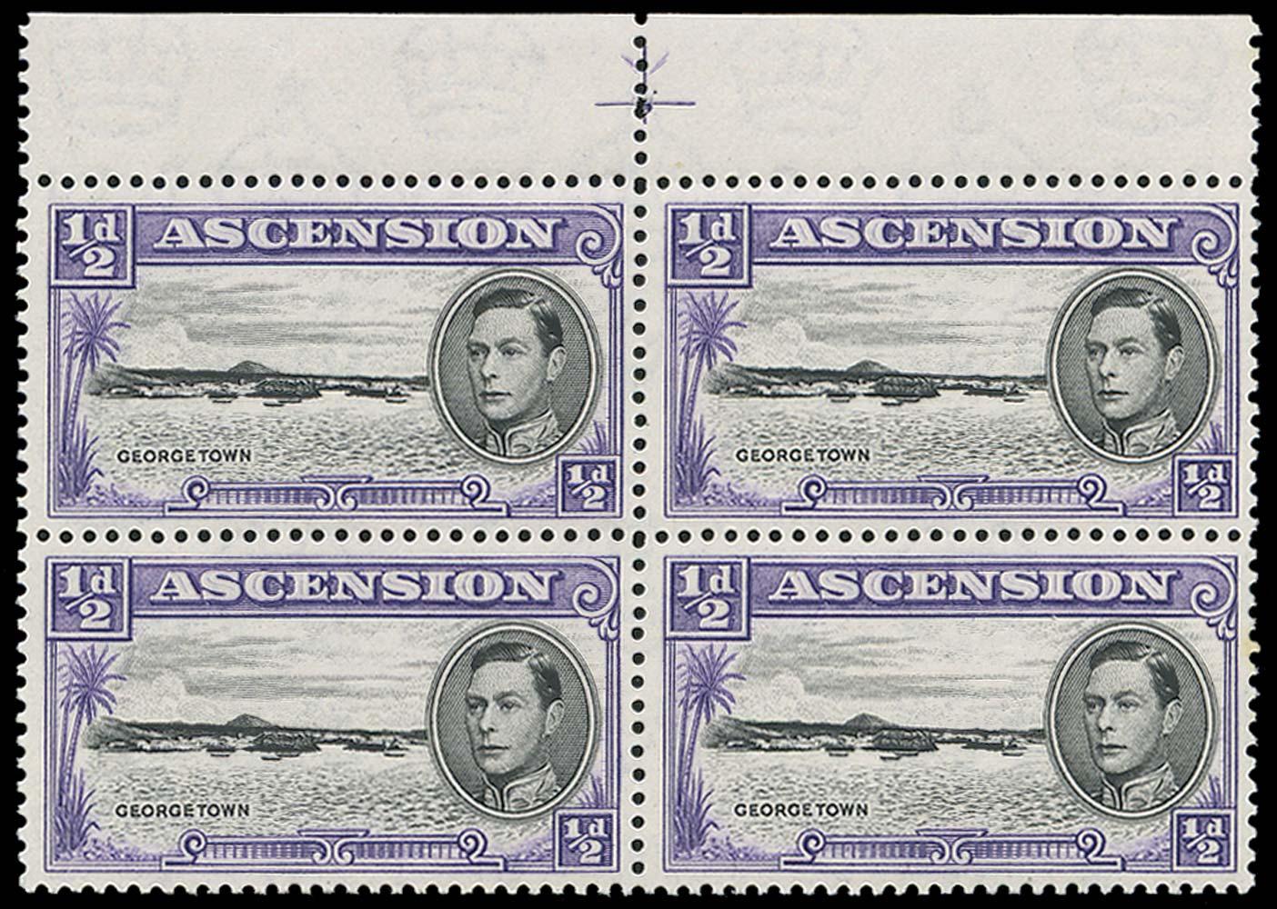 ASCENSION 1938  SG38b/ba Mint