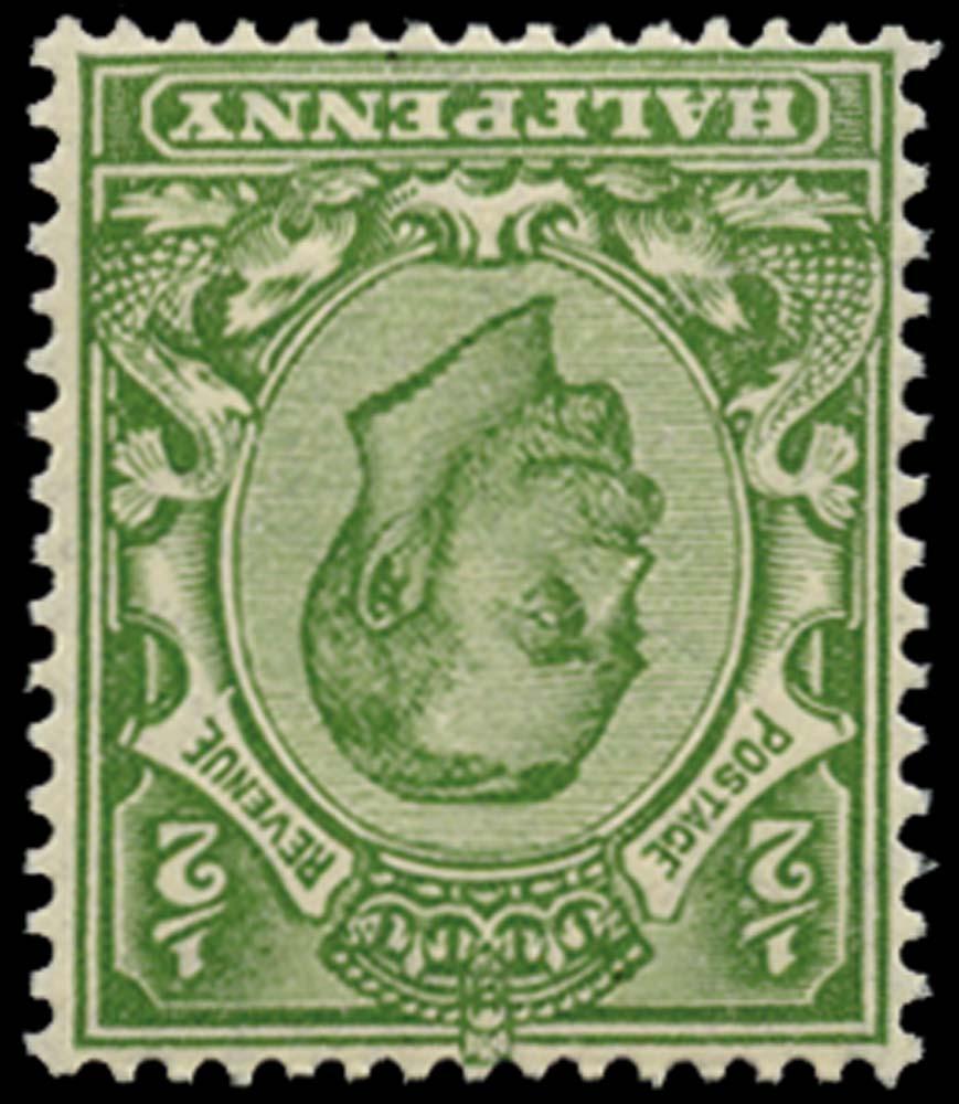 GB 1912  SG347wi Mint (Die 2, Wmk.