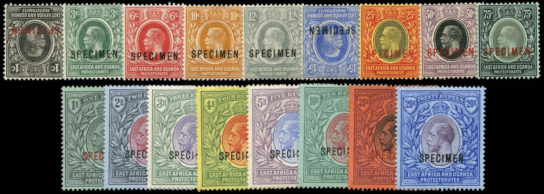 KUT 1912  SG44s/60s Specimen