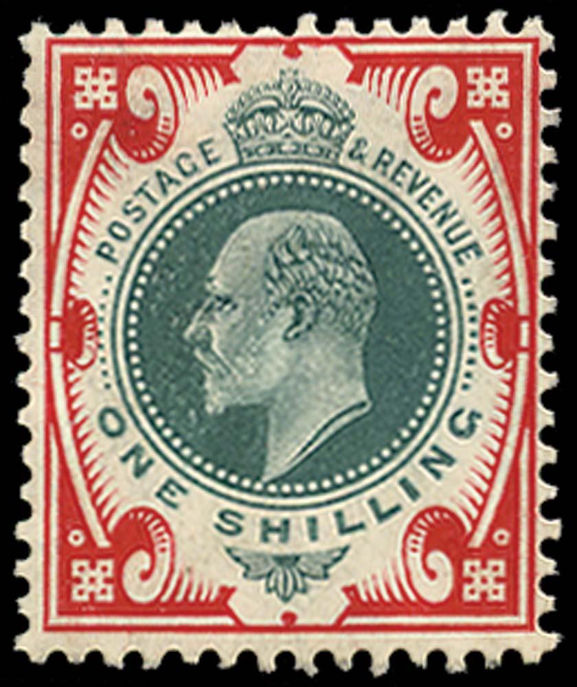 GB 1910  SG259var Mint
