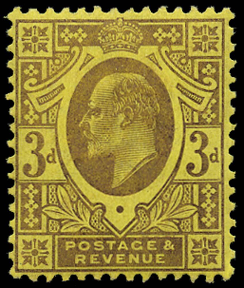 GB 1906  SG233 Mint