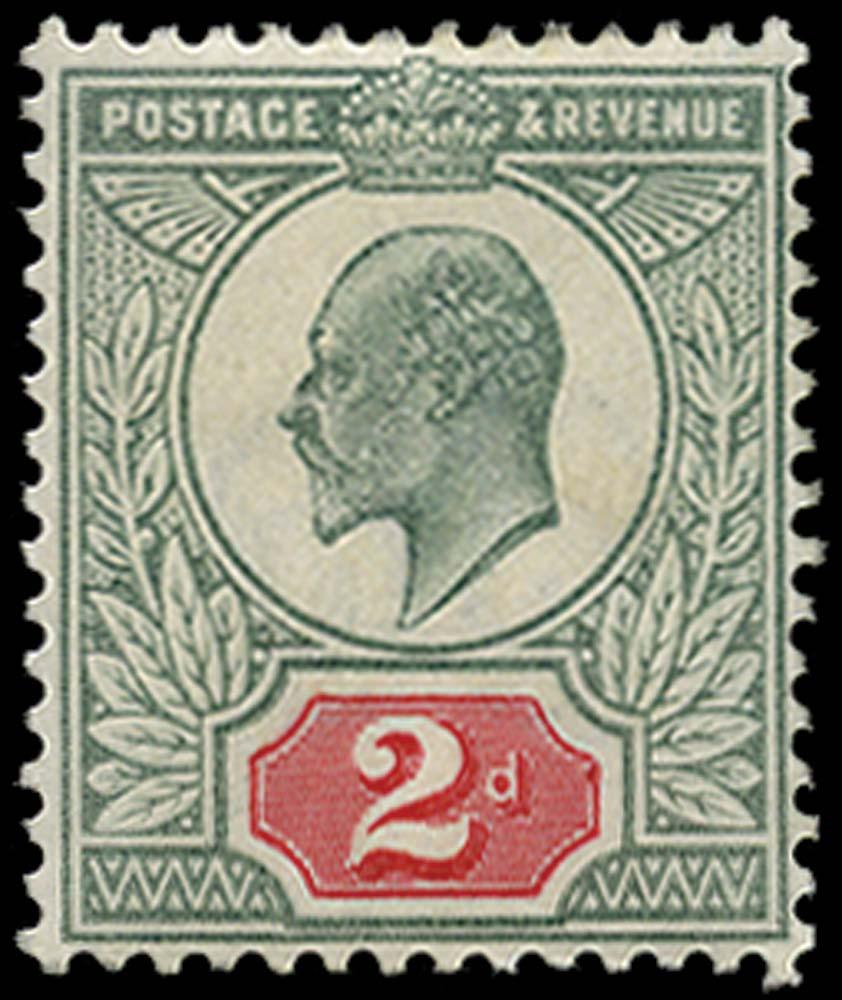 GB 1904  SG225var Mint