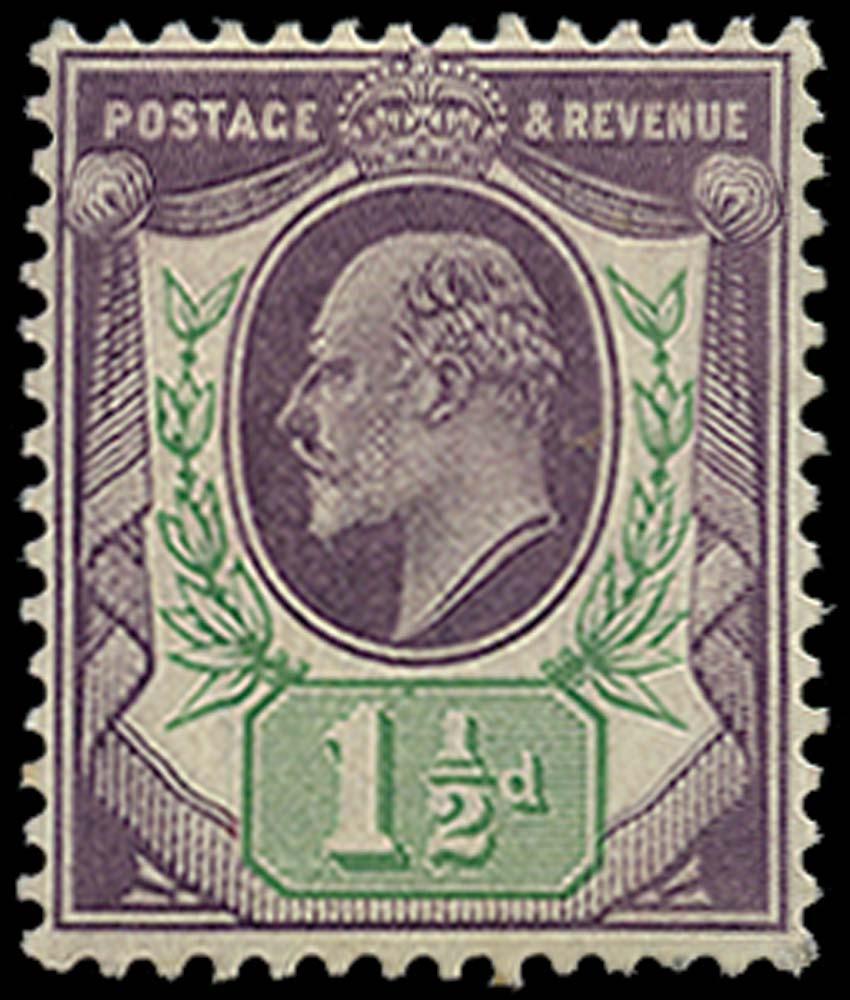 GB 1905  SG224 Mint
