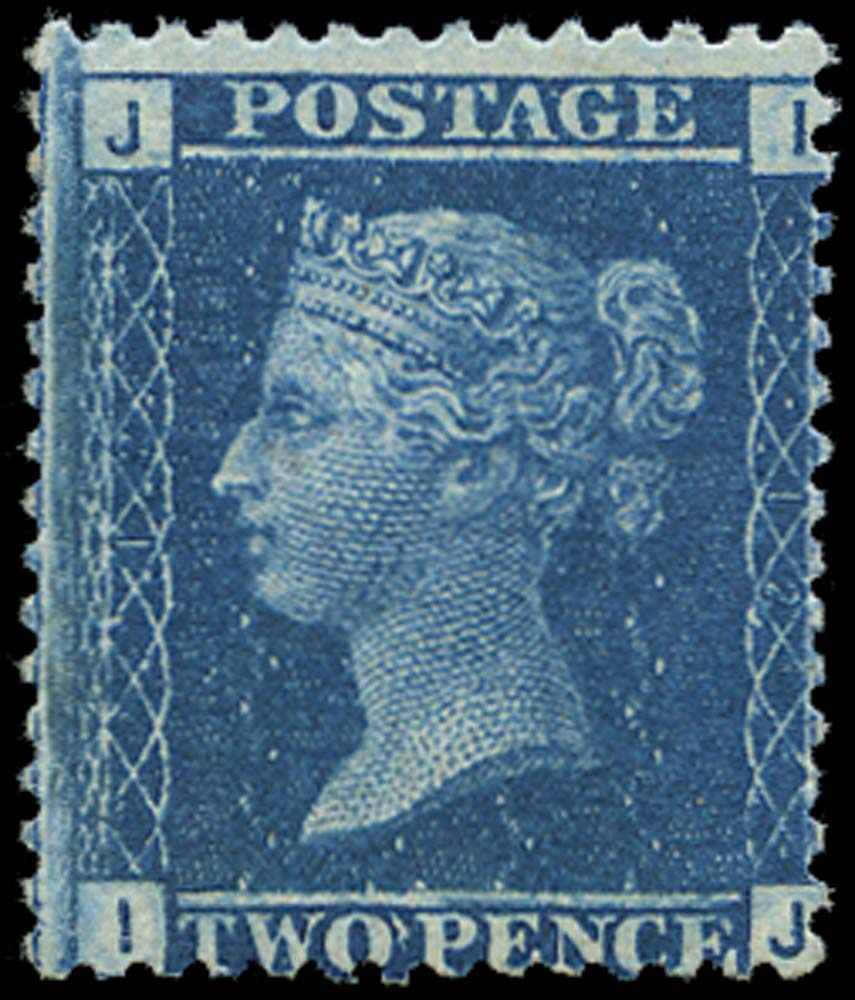 GB 1868  SG45 Pl.12 Mint U/M example (IJ)