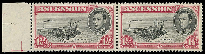 ASCENSION 1953  SG40fa Mint