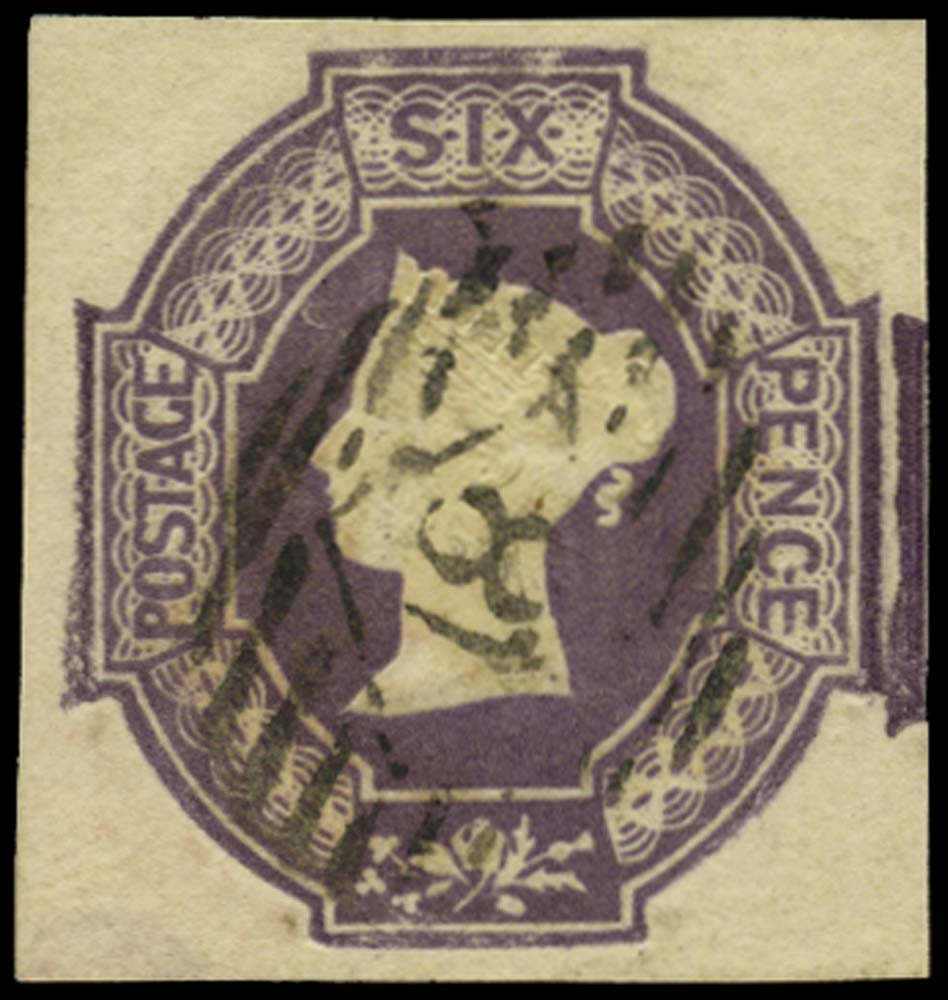 GB 1847  SG60 Used London City numeral