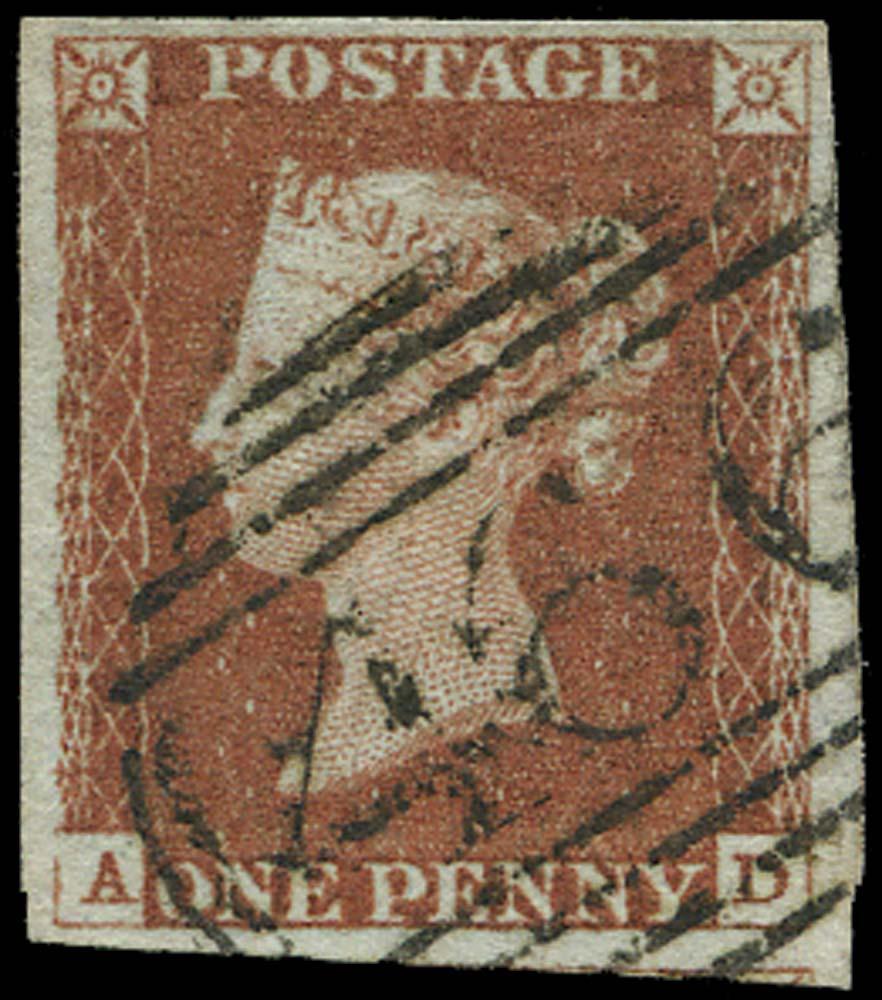 GB 1841  SG8 Used Liverpool