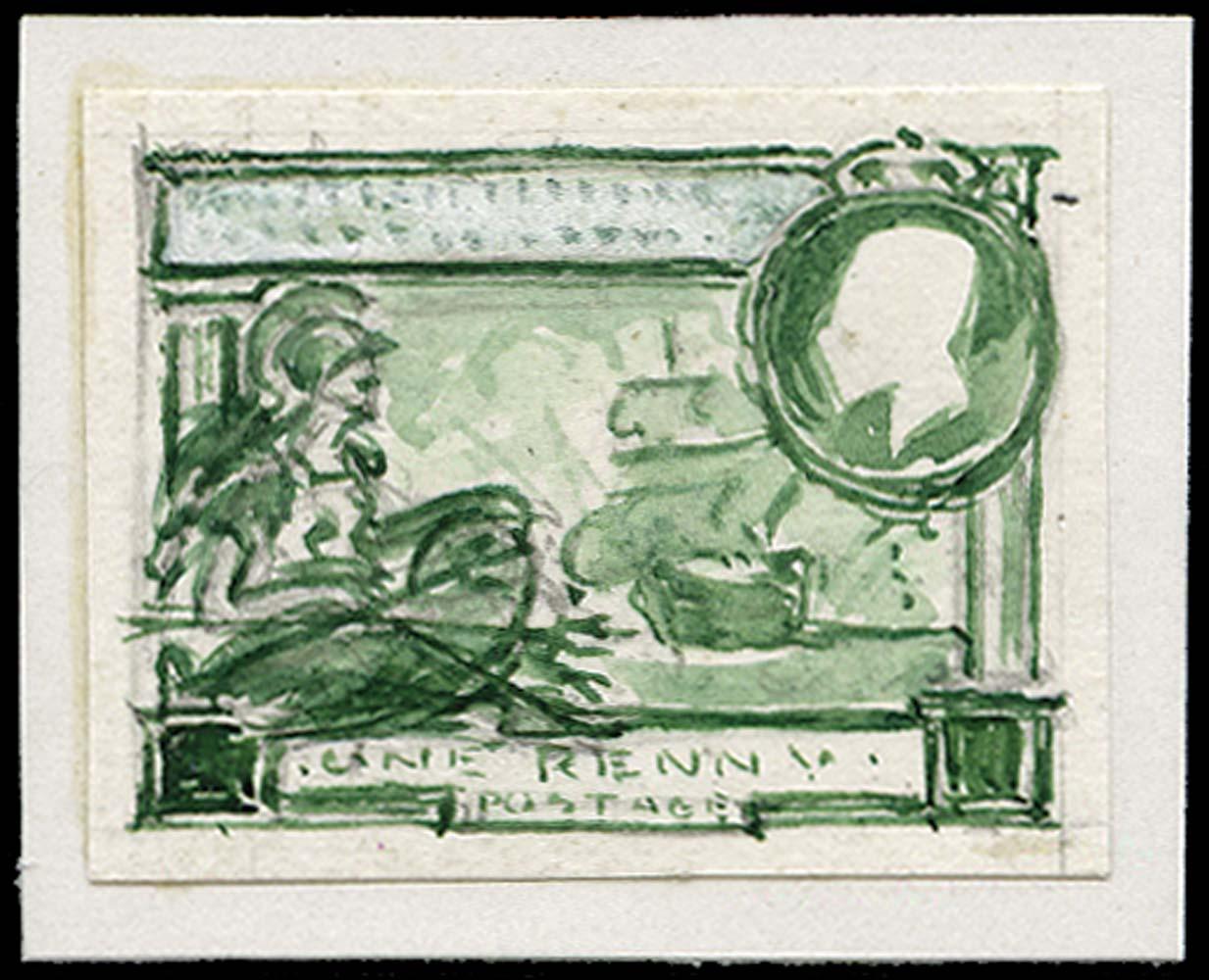 GB 1925  SG432 Essay British Empire Exhibition unissued