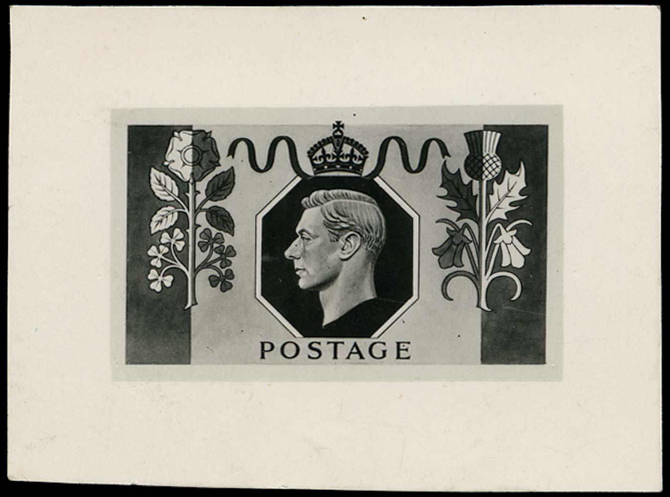 GB 1951  SG. Essay Unattributed photographic bromide