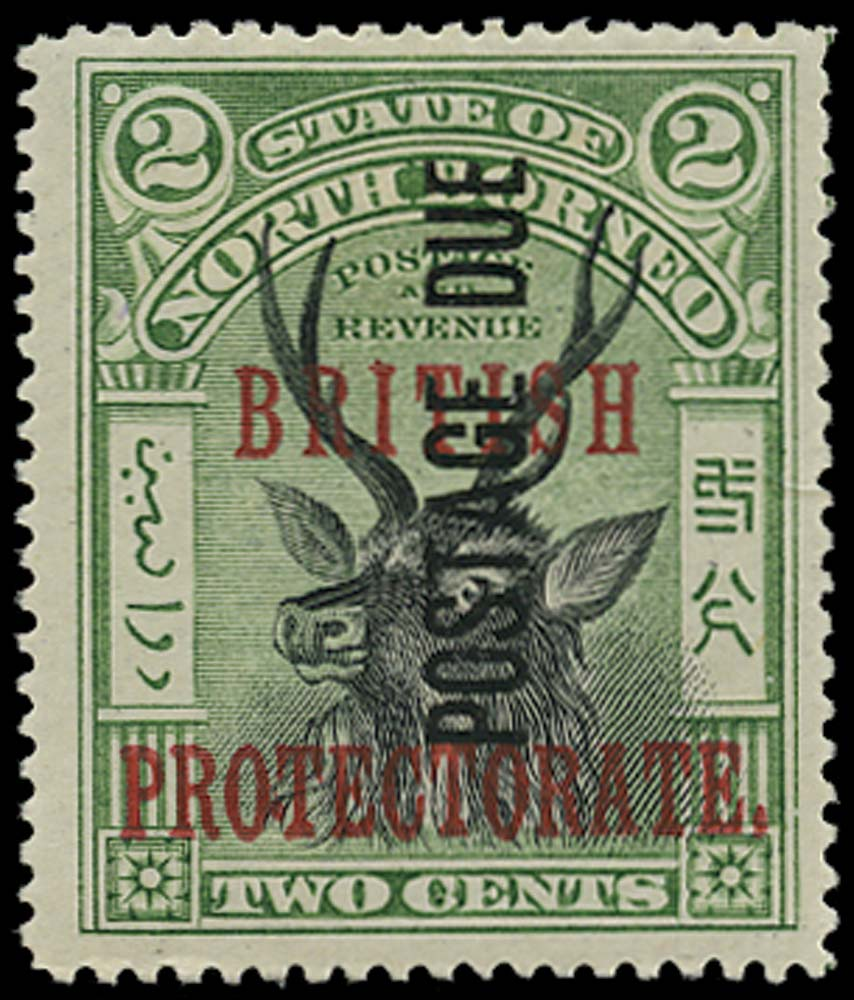 NORTH BORNEO 1902  SGD32 Postage Due