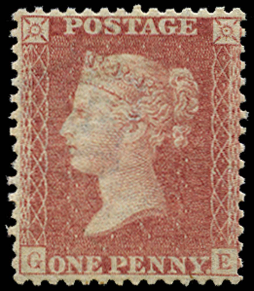 GB 1857  SG38 Pl.44 Mint