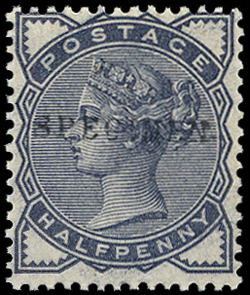 GB 1884  SG187s Specimen type 9