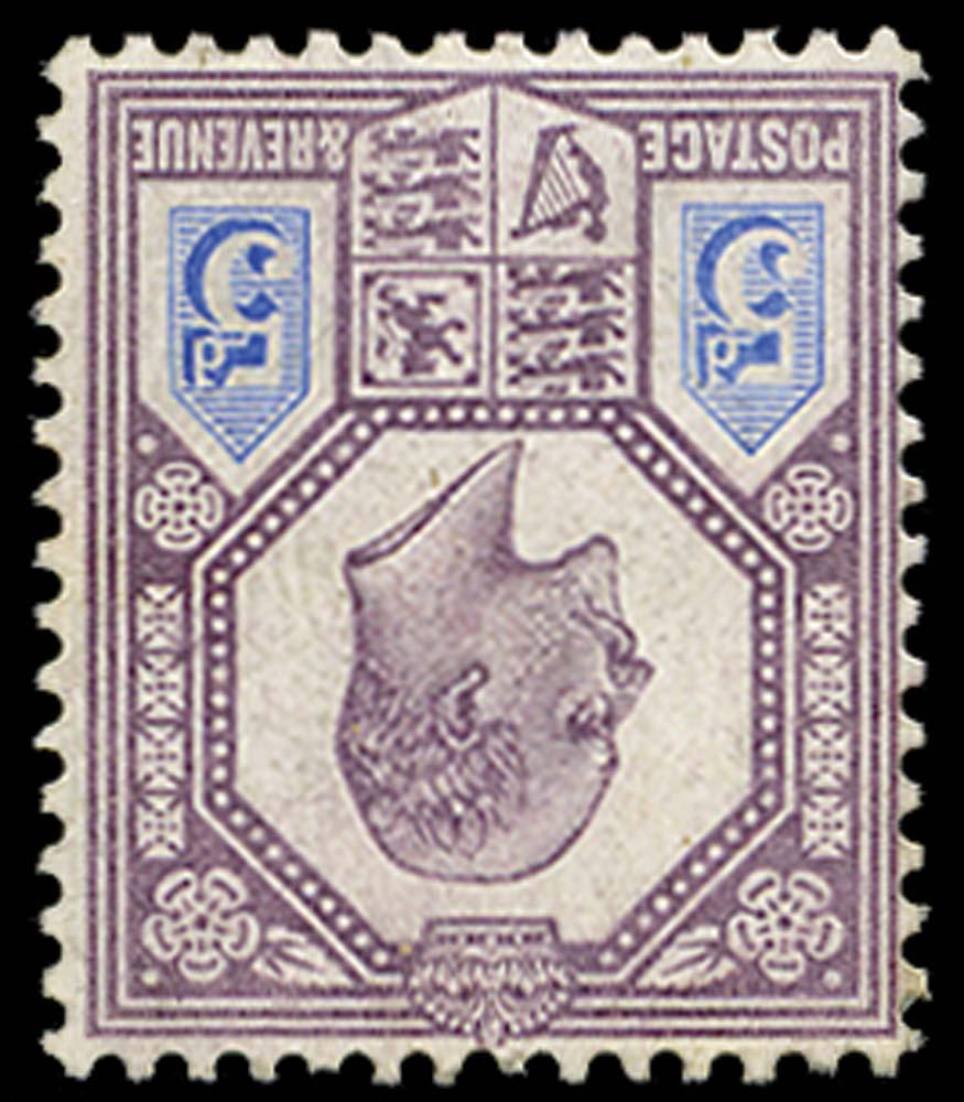 GB 1906  SG242aWi Mint U/M o.g. Watermark Inverted