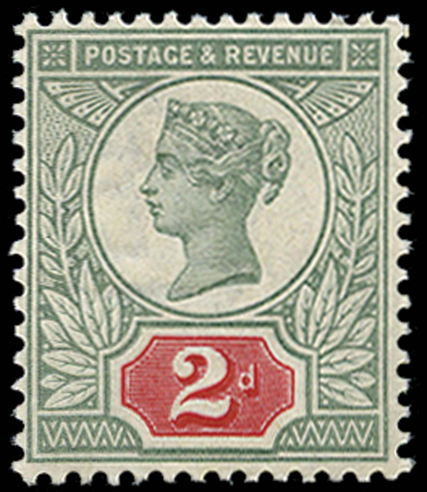 GB 1887  SG200var Mint U/M example