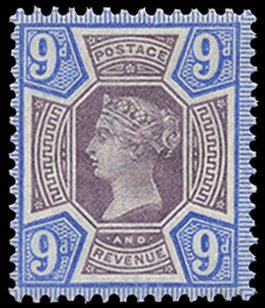 GB 1887  SG209var Mint U/M example