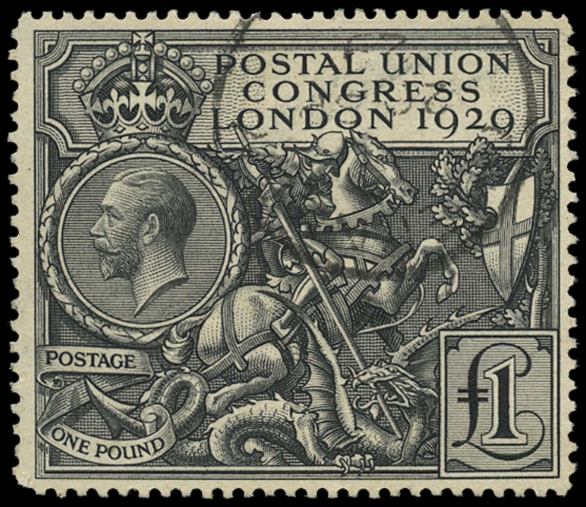 GB 1929  SG438 Used