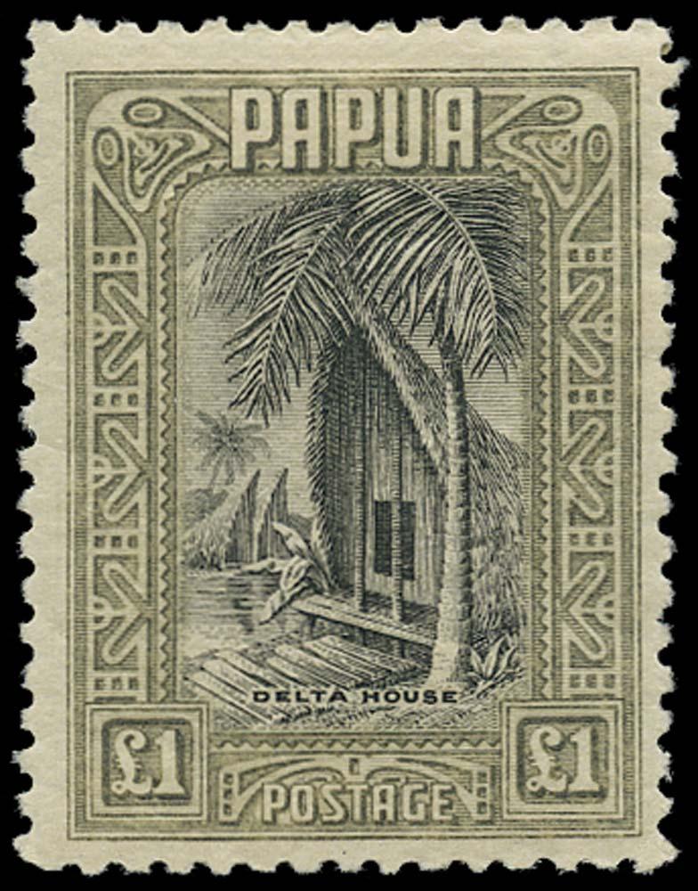 PAPUA 1932  SG145 Mint £1 delta house